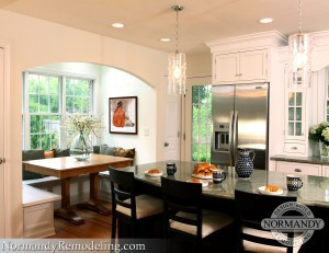"Normandy Wilmette Kitchen Featured on ""Designer Kitchens of the North Shore"" Kitchen Tour"