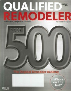 Normandy Named one of the Top Remodelers in the U.S.