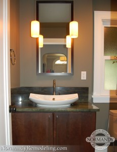 powder room sconce lighting ideas