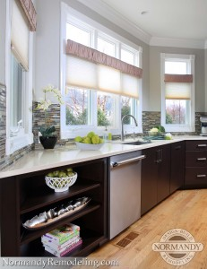 engineered stone countertop ideas created by Leslie Molloy