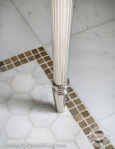 Bathroom Tile pattern ideas created by Normandy Designer Chris Ebert