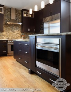 kitchen oven in island ideas created by normandy designer leslie molloy