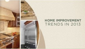 Home Improvements Trends In 2013 [Infographic]