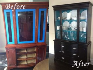 refinishing hutch color ideas created by Normandy Designer Ann Stockard