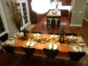 thanksgiving tablescape ideas created by Normandy Designer Heather Dalskov
