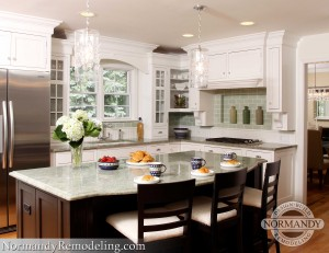 kitchen remodeling ideas created by Normandy Designer Vince Weber