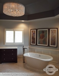bathroom remodeling ideas pictures created by Normandy Designer Jennifer Runner, AKBD