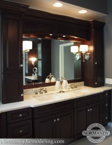 bathroom vanity ideas created by Normandy Designer Jennifer Runner, AKBD