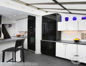 Galley kitchen makeovers created by Normandy designer Chris Ebert