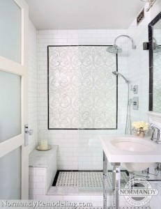 Bathroom focal point