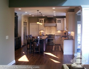 open concept kitchens