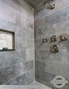 tile in shower