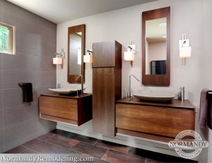 bathroom design by normandy remodeling designer chris ebert