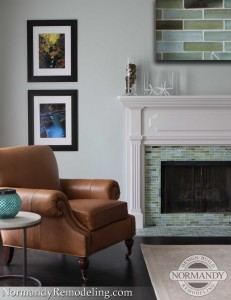 fireplace tile by normandy remodeling designer ann stockard
