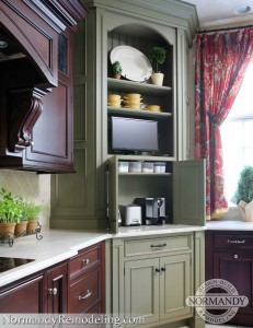 Burr Ridge kitchen remodel by Normandy Remodeling Designer Leslie Lee