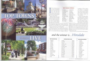 Hinsdale Voted Top Town of the Western Suburbs
