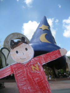 "Normandy's ""Flat Norman"" Goes to Disney World"