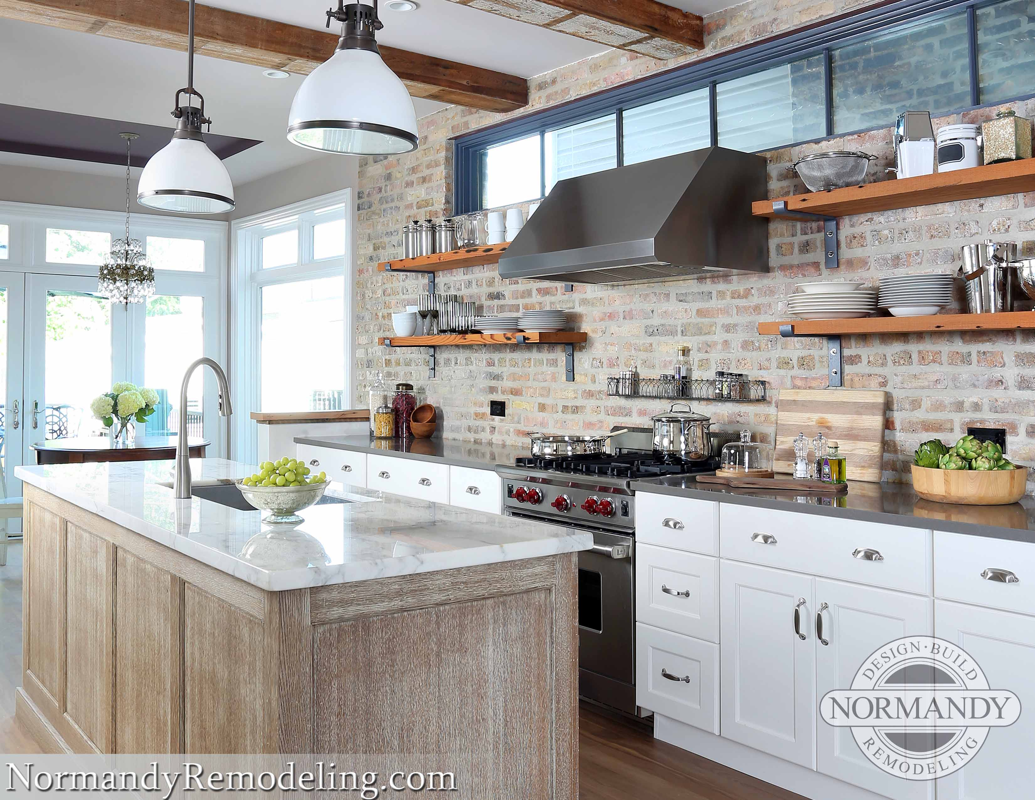 Award Winning Row House Kitchen Renovation In Wicker Park Normandy Remodeling