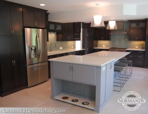 Gurnee kitchen remodel by Normandy Remodeling Designer Ann Stockard