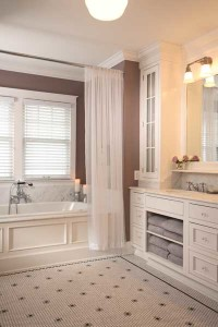Classic Bathroom with a Feminine Touch
