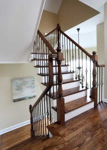 Wrought Iron Staircase Remodel