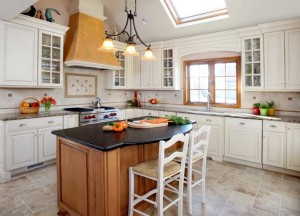 Can You Have Stained Trim With White Painted Cabinets Normandy Remodeling