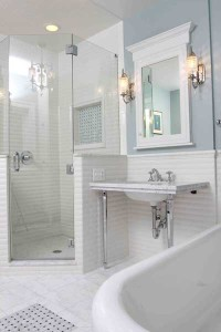 The Timeless Bathroom Storage Solution
