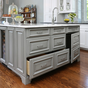 Add Dimension and Detail to Your Kitchen Cabinetry with a Specialty Glaze