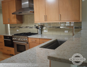 Polished countertop