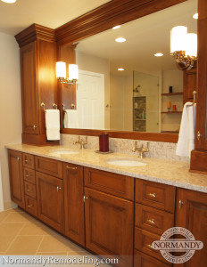 Master Bathroom Overhaul Results in Storage and Style