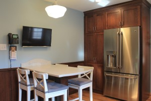 Incorporating A Television In Your Kitchen Normandy Remodeling