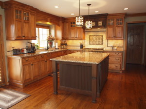 St. Charles Kitchen Renovated with Retirement in Mind