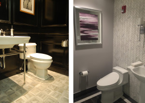 Normandy Powder Rooms Get a New Look