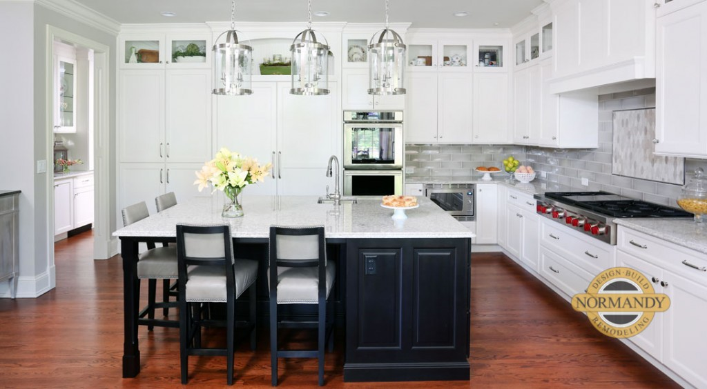Rule Of Thumb For Stacked Kitchen Cabinets Normandy Remodeling