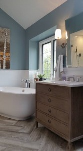 A Look at a Normandy Designer's Personal Master Bathroom Remodel