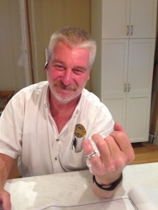 Lost Wedding Ring Found in Master Bathroom Remodel
