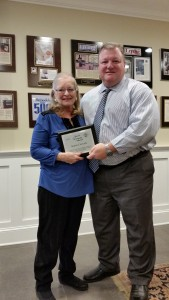 Karen Cericola and Andy Wells at Normandy Remodeling Showroom