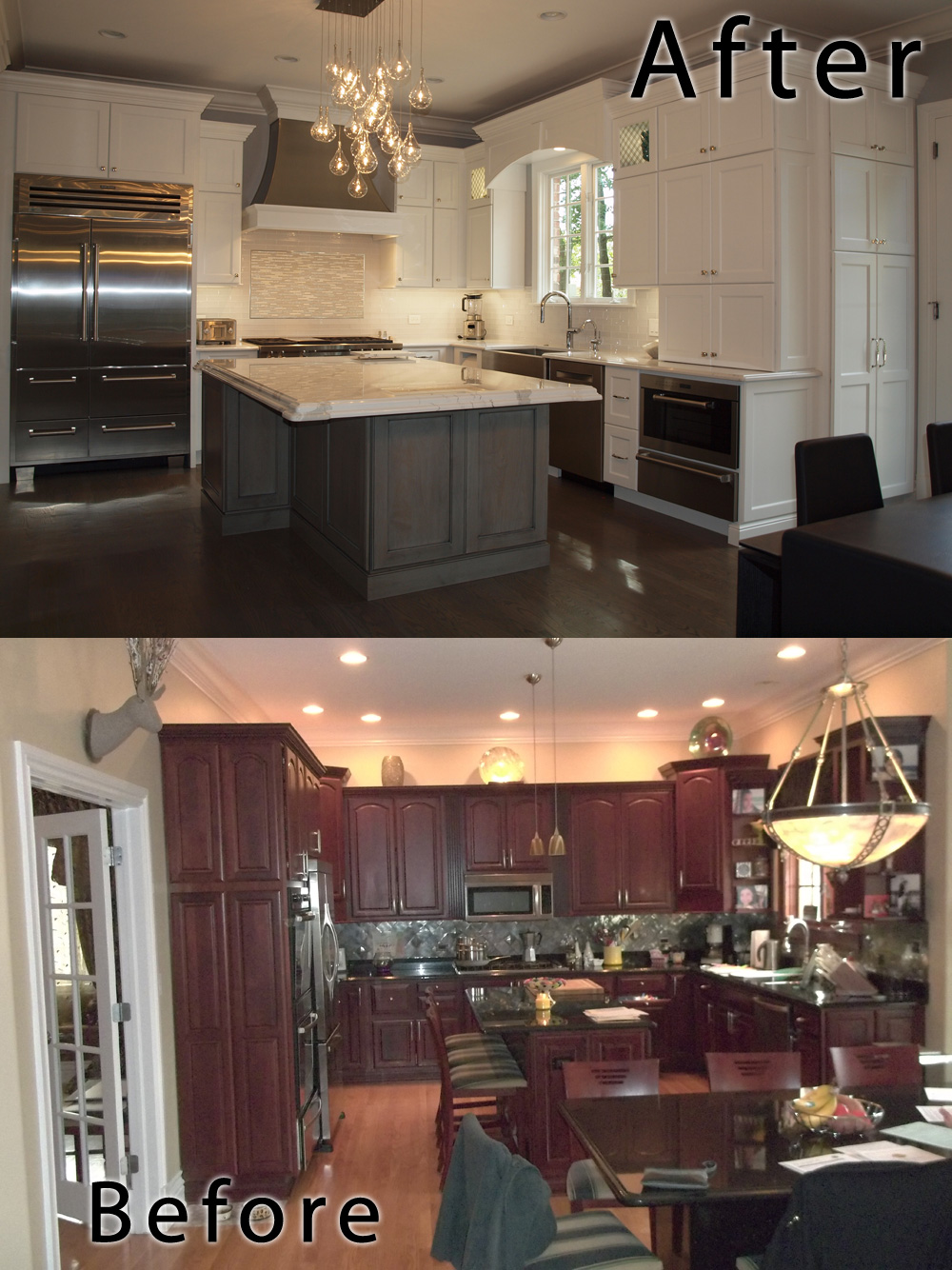 Kitchen Remodel Before And After Normandy Remodeling