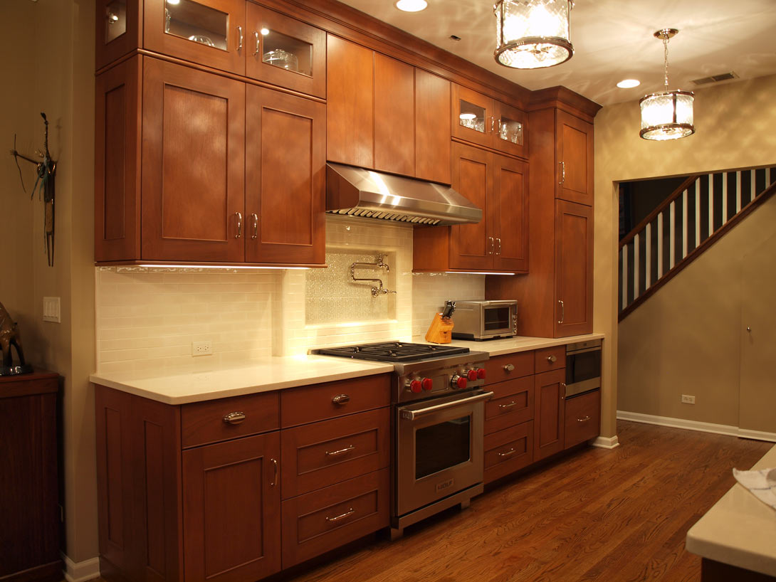 Shaker Style Galley Kitchen Normandy