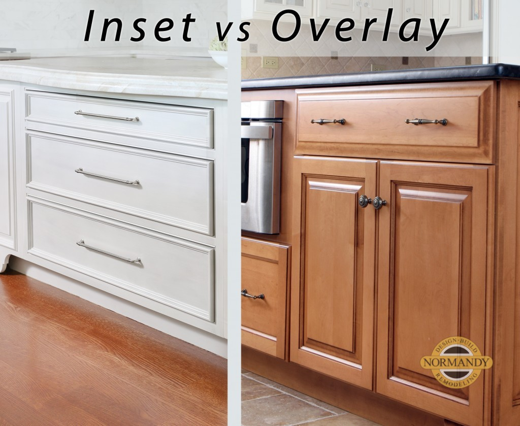 Inset cabinets or overlay cabinets
