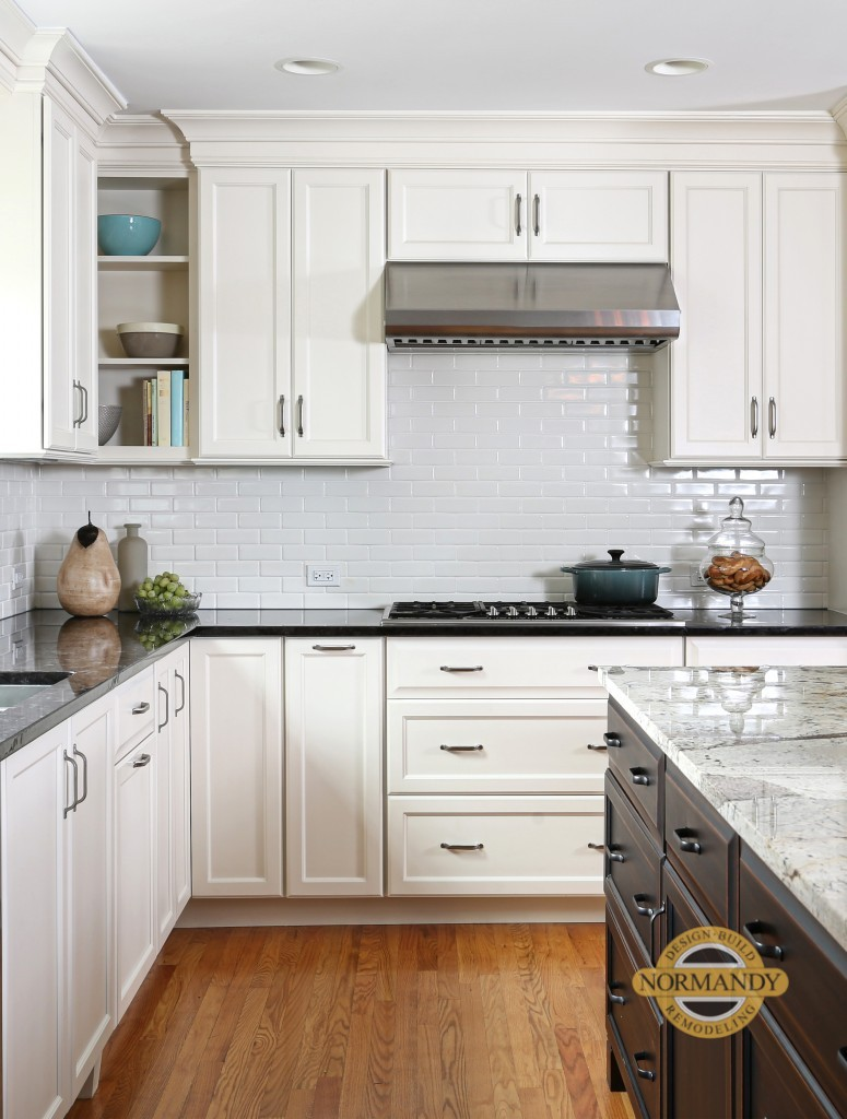 Full Overlay White Kitchen Cabinets Kitchen Remodel Decisions: Overlay vs Inset Cabinetry : Normandy