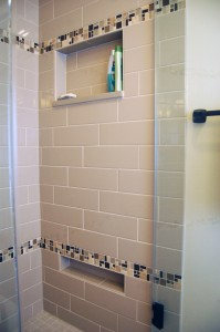 Customizing Your Shower Niche