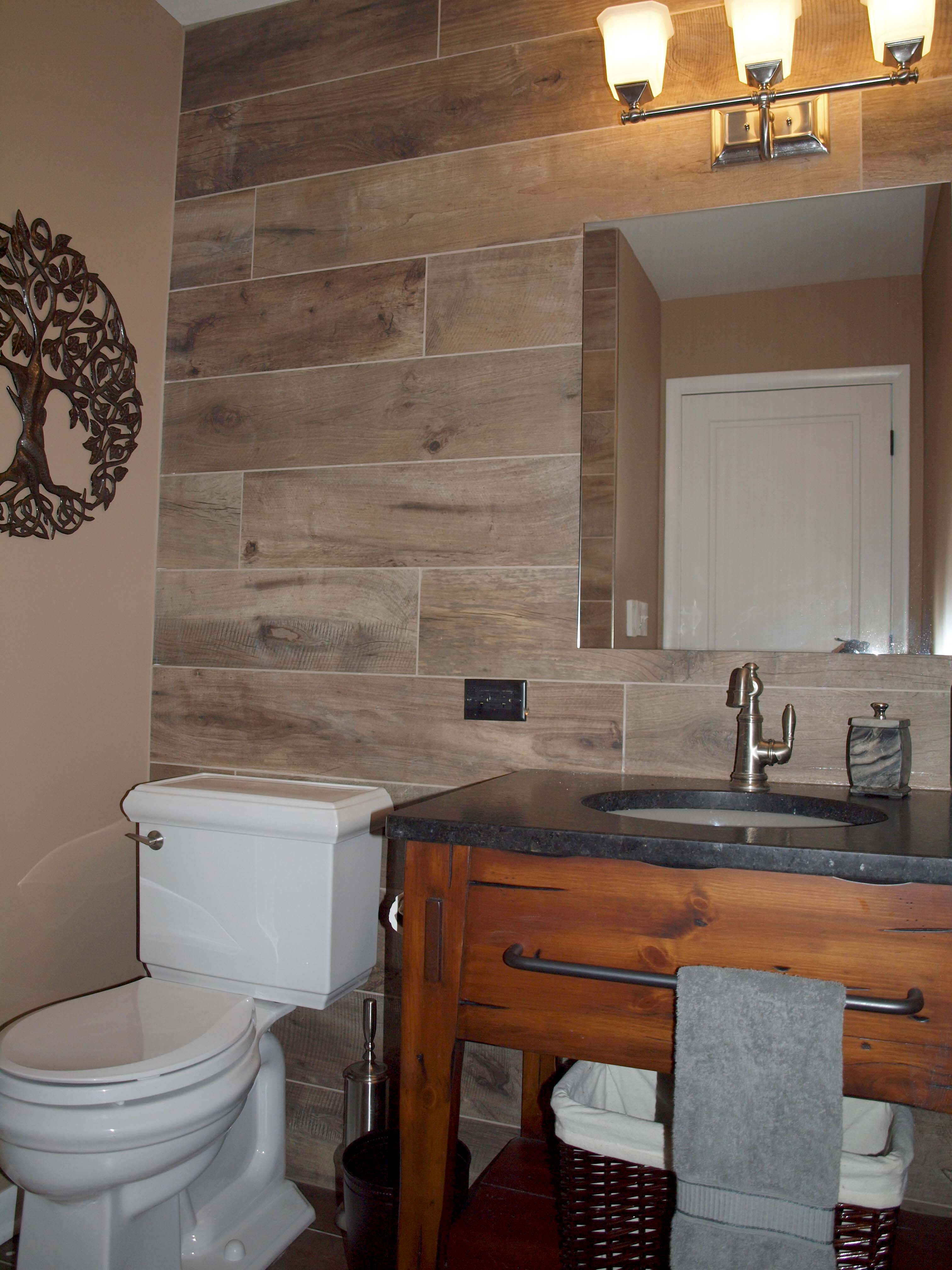Wood Look Tile On Walls Normandy Remodeling