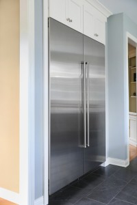 A kitchen with a professional range deserves professional refrigeration to go along with it