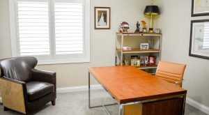 work from home office in master suite