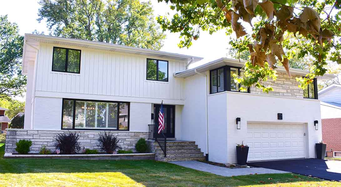 Master Suite Addition To 1960 S Split Level Normandy