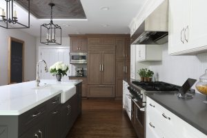 Professional Design Tip: Mixing Stained and Painted Cabinets in the Kitchen