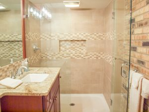 Removing the Bathtub Creates a Safer Shower