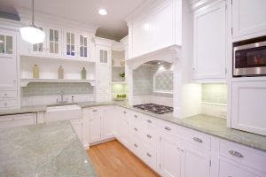 The Problem with White Kitchen Cabinets