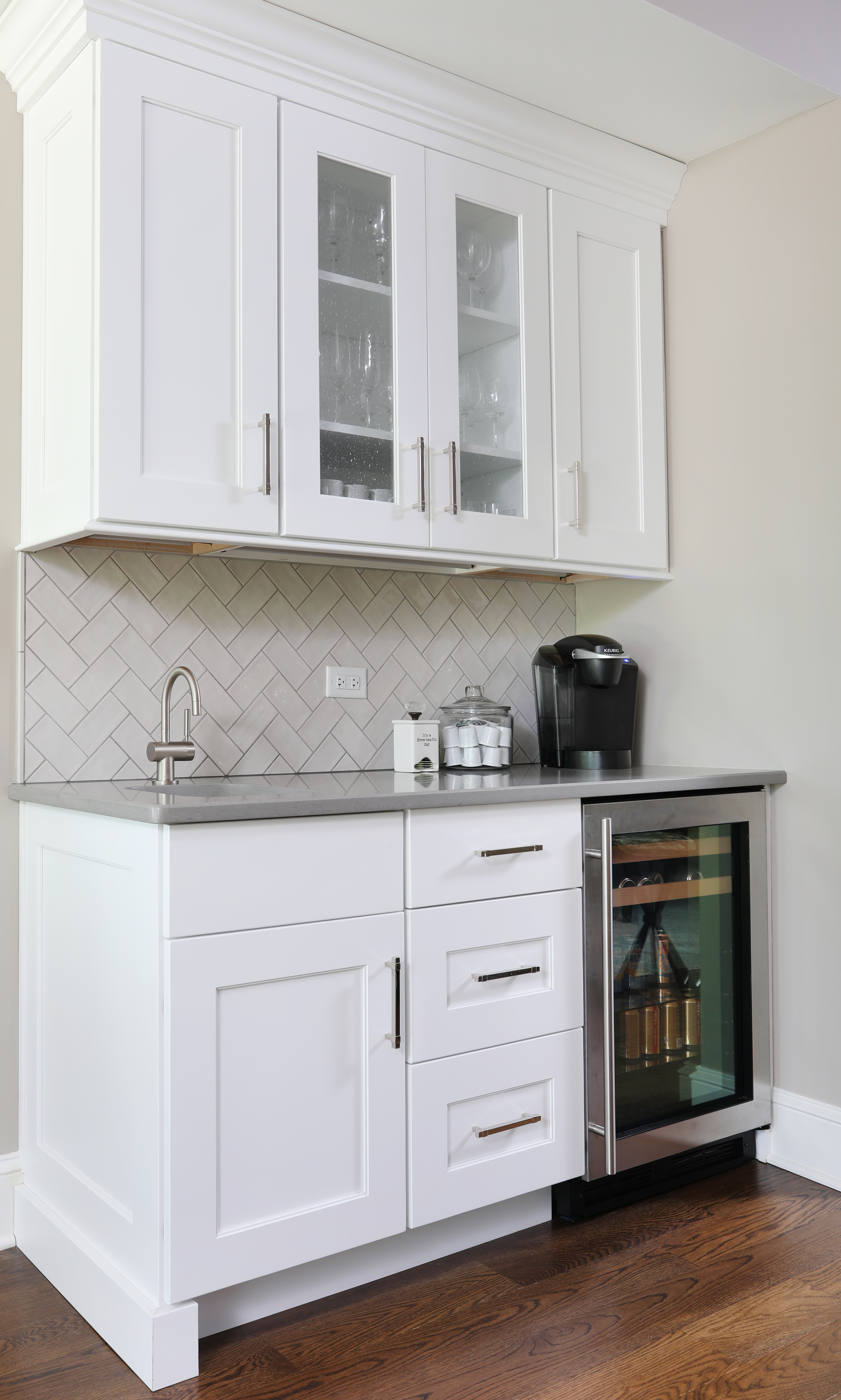 Incorporating A Beverage Center Into Your Kitchen Normandy Remodeling